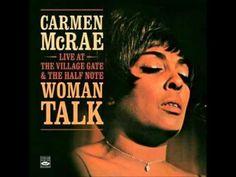 Carmen McRae - Woman Talk album