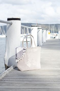 Woodnotes Beach bag, size L, color stone. Bag is ideal for the beach, the sand doesn't get stuck on the bag and is easy to clean up. Material is paper yarn. Bag is light weight to carry on. Yarn Bag, Color Stone, Paper, Beach, Accessories, The Beach, Beaches, Ornament