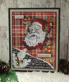Kath's Blog......diary of the everyday life of a crafter: Tim Holtz Holiday Inspiration Series - Christmas C...