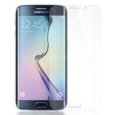 Precisely molded to fit the curved display, NVS Screen Guards protect your Samsung Galaxy Edge Plus against scratches, fingerprints and dirt/ Screen Guard, Samsung Galaxy S6, Fingerprints, Phone, Display, Fit, Telephone, Billboard, Mobile Phones