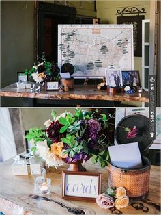 wedding card table and map seating chart | CHECK OUT MORE IDEAS AT WEDDINGPINS.NET | #weddings #weddingseating #weddingdecoration
