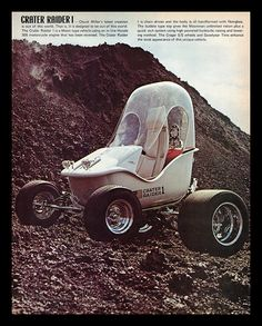 """""""Crater Raider"""" Show Car, 1971 by Cosmo Lutz, via Flickr"""
