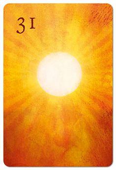 Mondnacht Lenormand Karte 31: Sonne