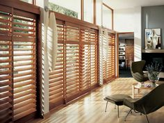The Fragment Of Sliding Glass Door Coverings, sliding door vertical blinds, window treatments buying ~ Home Design Blinds For Large Windows, Sliding Glass Door, Wood Windows, Interior Windows, Interior Shutters, Living Room Blinds, Interior Window Shutters, Wood Blinds, Door Coverings