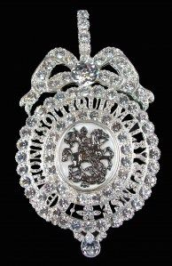 "Order of the Garter - Queen Victoria's Sash Badge (known as ""Lesser George"")"