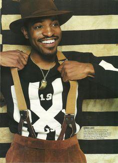 Andre 3000 x Suspenders
