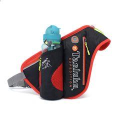 36125be144d49 Wodoodporna nylonowa lekka torba do biegania Outdoor Running Cycling Sportowa  torba Modna butelka turystyczna Fanny Pack