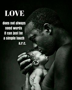 This is an amazing portrait because you can just see the love this father has for the baby. And making the photo black and white just adds that effect. Black White Photos, Black Love, Black Is Beautiful, Black And White Photography, Simply Beautiful, Absolutely Stunning, Black Men, Beautiful People, Fathers Love