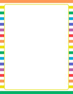 8 free printable stationery borders pretty designs here borders free yellow and white striped border templates including printable border paper and clip art versions file formats include gif jpg pdf and png altavistaventures Images