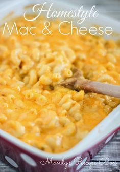 Homestyle Mac & Cheese | Mandy's Recipe Box - Golden Corral Knockoff
