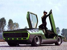 Alfa Romeo Carabo Concept Car   1968
