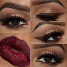 wow, this look is perfection, love the lip colour