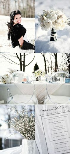 Winter Wedding Inspiration Shoot from Distinct Occasions Wedding Planning.