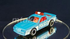 TOMICA 114 CHEVROLET CAMARO POLICE CAR | 1/66 | JAPAN | 114A-1 | FIRST