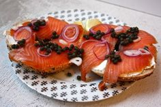 Lox & bagel at feedmedearly.com | Recipe