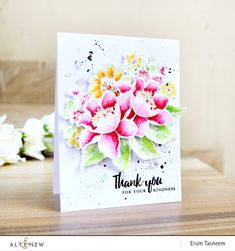 Video: Garden Treasure Watercolor Bouquet – Altenew Blog