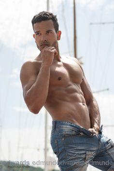 Model Gerard Vack by Edmund Edwards. Read his interview at Men and Underwear!