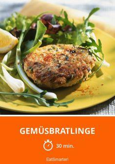 Gemüsbratlinge - smarter - Zeit: 30 Min. | eatsmarter.de