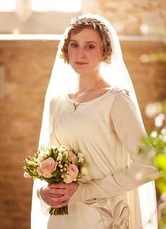 Downton Abbey Edith's Wedding