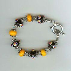 My favorite one!  My STEELER bracelet!