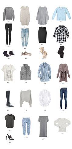 try a minimalist closet -- limit to just X number of items. thank you @erinloechner for the inspiration.