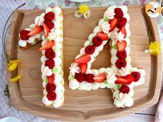 Tarte chiffres ou number cake, photo 1