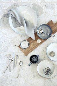 Broste Copenhagen - Big plate 'Nordic Sand' Stoneware _11
