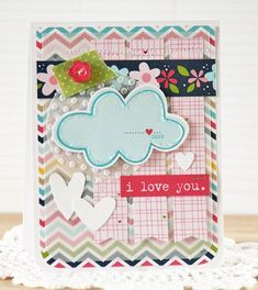 """""""I Love You"""" card by Laurie Schmidlin"""