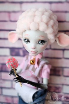 Monster high custom by Prescilla