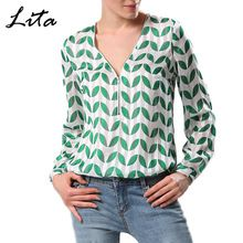 Like and Share if you want this  FINEJO 3D Print Leaves V-Neck Top Blouse Sexy Fashion Casual Long Sleeve Front Zip Autumn Summer Shirts Women's Clothing     Tag a friend who would love this!     FREE Shipping Worldwide     #Style #Fashion #Clothing    Get it here ---> http://www.alifashionmarket.com/products/finejo-3d-print-leaves-v-neck-top-blouse-sexy-fashion-casual-long-sleeve-front-zip-autumn-summer-shirts-womens-clothing/