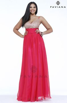 Faviana 9343 Beautiful #faviana #gown perfect for #prom or #nightout. Comes in multiple colors. #dress #cocktail #beautiful #evening #spring #ballgown #2014