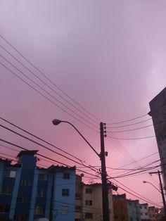 VDI the sky in pink