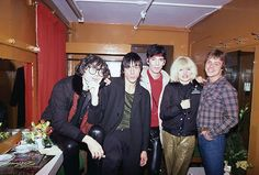 Chris Stein, Iggy Pop, Jimmy Destri, Debbie Harry and Mark Hamill. (photo: Lynn Goldsmith)