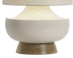 Vanderbilt Table Lamp - White and Maple