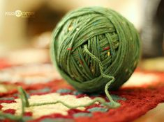Knitting Tips: How to make a Center-Pull Ball ~ Mystery Solved!
