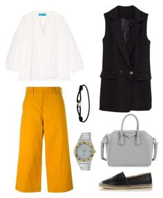 """"""""""" by fatimah42 on Polyvore featuring Sofie D'hoore, M.i.h Jeans, Givenchy, Cartier and OMEGA"""