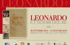 """Fino al 25 gennaio 2015 la Biblioteca Reale di #Torino ospita la #mostra """"Leonardo e i Tesori del Re"""""""