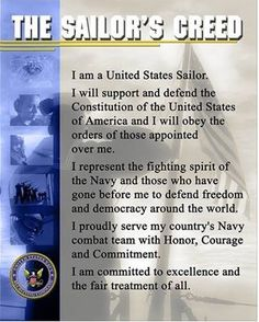 The Sailor's Creed