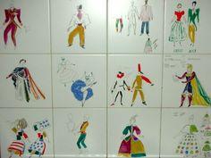 Ceramiche Bardelli con i disegni di Gio Ponti.