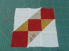 Resultado de imagen para sampler red patchwork
