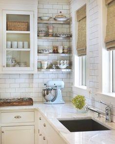 Antique White Kitchen Cabinets, More: White Kitchen Remodel Before and After, White Kitchen Remodel On A Budget, White Kitchen Ideas Farmhouse, White Kitchen Ideas Modern. #WhiteKitchen