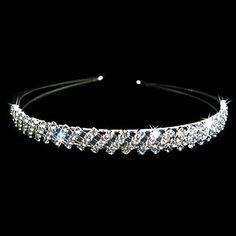 Gorgeous Clear Crystals Wedding Bridal Tiara/ Headpiece – USD $ 15.79