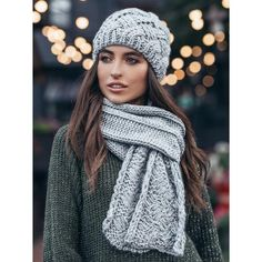 Winter beanie hat scarf set ❇ Be prepared for windy fall and frosty winter with this amazingly warm and cozy knit winter set. ❇ The beanie hat is lined with fleece and knit scarf can be wrapped 2 times around neck to keep you snug and warm even on the coldest days in the depth of winter! ❇ Add a