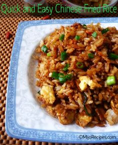 Chinese Recipe chinese fried rice @MijoRecipes
