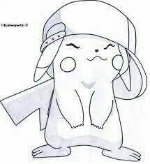 Cute Disney Drawings, Cool Art Drawings, Amazing Drawings, Cartoon Drawings, Drawing Sketches, Drawing Ideas, Pokemon Tattoo, Lugia, Fox Art
