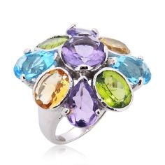 Sterling silver rings for women set with clear cubic zirconia stones in a gift box. Custom Jewelry Design, Stacking Rings, Natural Gemstones, Bling, Image Search, Silver, Design Ideas, Flower, Beautiful