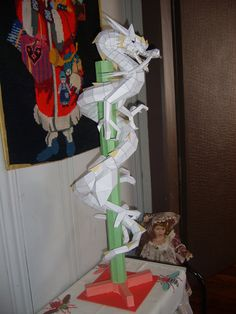 Dragon Pepakura II by colesakuinu.deviantart.com on @DeviantArt