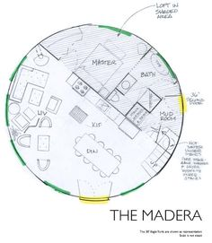 Rainier Yurt The Madera Eagle Round House Plan