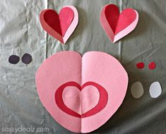 Heart Pig Craft For Kids - Crafty Morning