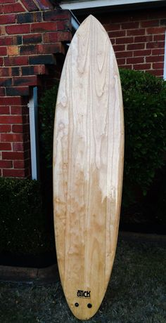 7'2 pintail  Stick wooden surfboards